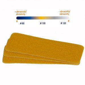 Ricambi abrasivi gialli #100