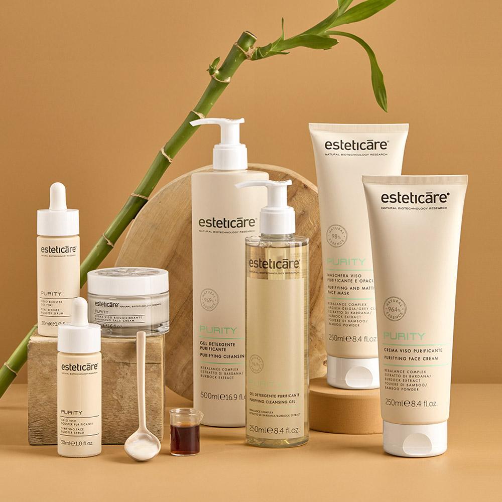 trattamento riequilibrante che purifica la pelle